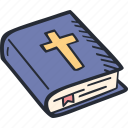 bible, catholic, celebration, color, easter, spring icon