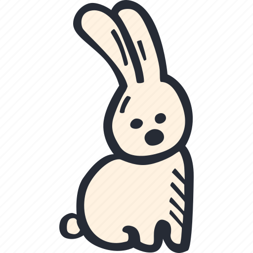 bunny, catholic, celebration, color, easter, spring icon