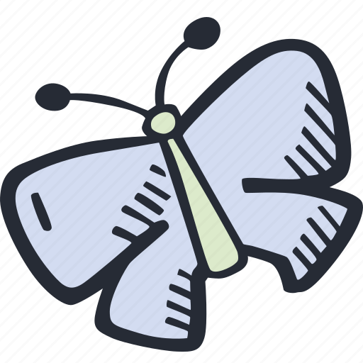 butterfly, color, easter, nature, spring icon