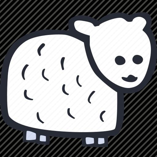catholic, celebration, color, easter, lamb, spring icon