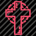 christ, christmas, church, cross, religion icon