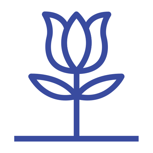 celebration day, christianity, easter, flower, holiday, line, spring icon