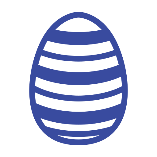 celebration day, christianity, easter, egg, holiday, line, spring icon