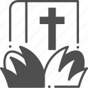 bible, christian, religion icon