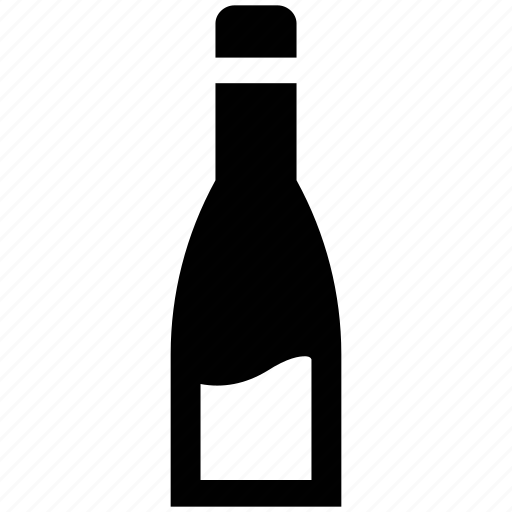 alcohol, alcoholic drink, bottle, drink, sauce bottle, wine icon
