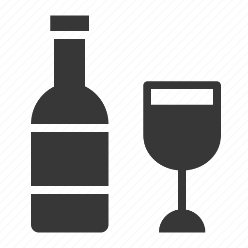 Beverage, bottle, celebration, drink, glass, holiday, wine icon - Download on Iconfinder