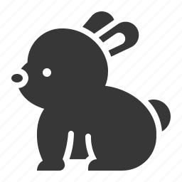 animal, celebration, easter, holiday, rabbit icon