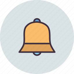 bell, christmas, church, easter, jingle, ring, toll icon
