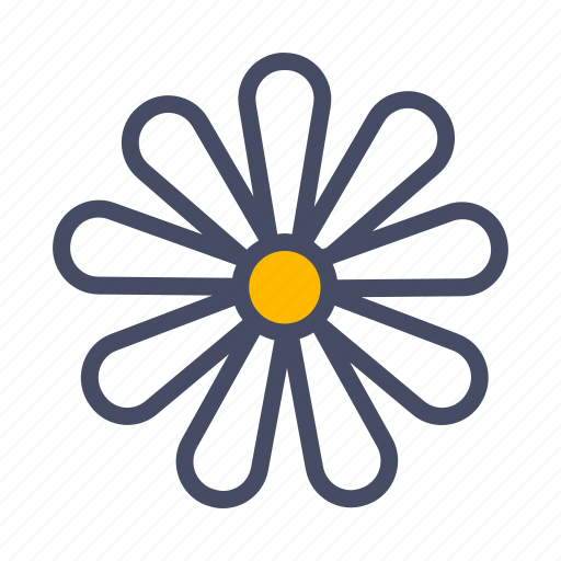 bloom, chamomile, easter, floral, flower, garden, spring icon