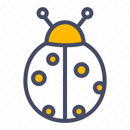 bug, easter, insect, ladybug, luck, spring icon