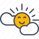 easter, happy, season, spring, sun, sunny, weather icon
