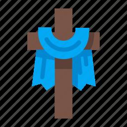 christian, cross, easter, easter cross, holy, pray, religion icon