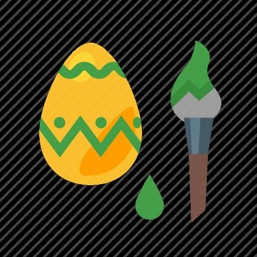 easter, easter egg, easter egg painting, easter tradition, egg, paschal icon