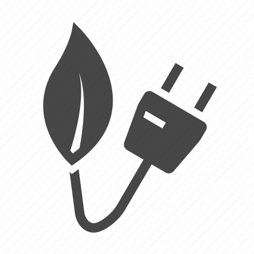 eco, electricity icon