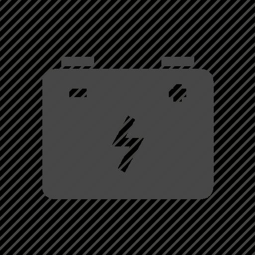 battery, eco icon