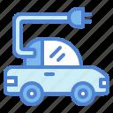 car, electric, plug, vehicle