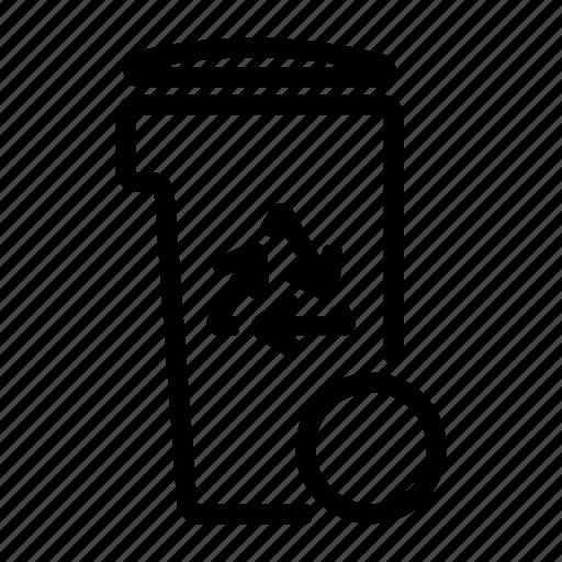 eco, garbage, remove, trash icon