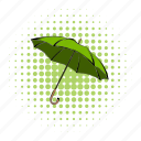 bio, comics, eco, ecology, environment, environmental, umbrella icon