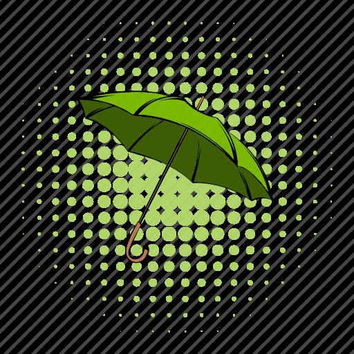 bio, comics, eco, ecology, environment, environmental, umbrella icon
