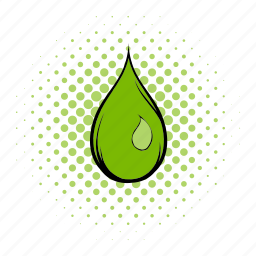 clean, comics, drop, eco, liquid, nature, water icon