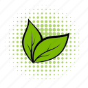 comics, growth, leaves, organic, plant, seedling, sprout icon
