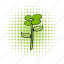 comics, decoration, eco, flower, nature, plant, spring icon
