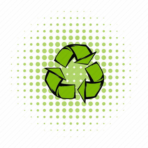 arrow, comics, design, nature, recycle, recycling, water icon