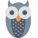 animals, bird, ecology, environment, fauna, owl, protection icon