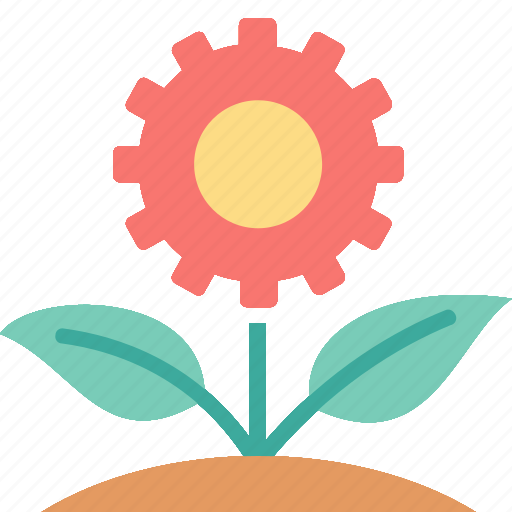 Green, technology, eco, environment, flower, plant icon - Download on Iconfinder