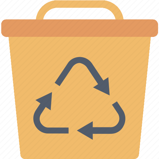 Recycling, bin, ecology, environment, garbage, recycle, trash icon - Download on Iconfinder