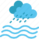deposit, drops, rain, resourse, sea, water icon