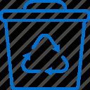 bin, dust, eco, green, recycle, recycling, trash