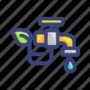 drop, eco, faucet, water icon