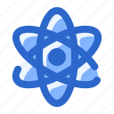 atom, atomic, ecology, science, scientific icon