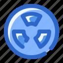 ecology, power, radiation, radiator icon