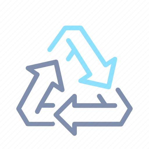 eco, ecology, environment, green, recycle, recycling, sign icon