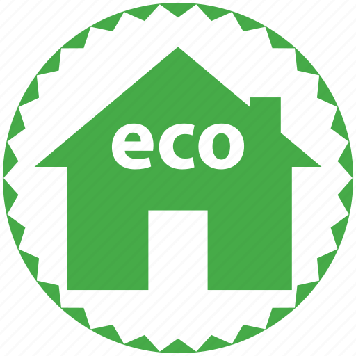 eco, ecology, environmental, green, house, re-use, recycling, renewable icon