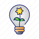 ecology, idea, nature, plant, tree icon