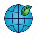 earth, ecology, go green, leaf, nature icon