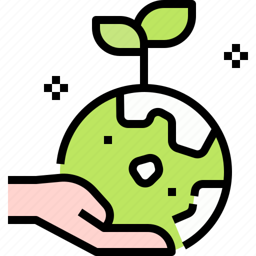 earth, ecology, global, hands, planet, save icon