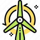 ecology, energy, green, turbine, wind, windmill icon