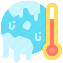 global, planet, thermometer, warming, warning