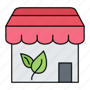 ecology, online, shop, shopping, store icon