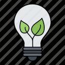 eco, electric, idea, lamp icon