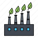 3factory, plant, production icon