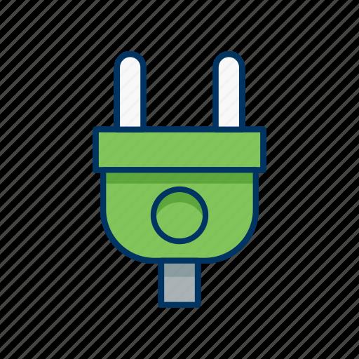 electric, environment, plug, socket icon