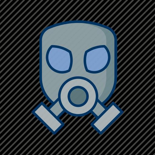 biohazard, ecology, environment, hazardous, mask, radiation, toxic icon