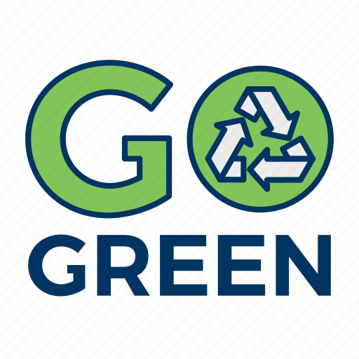ecology, environment, go green, nature, recycle icon