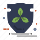 eco, energy, protection, shield icon