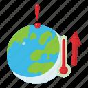 change, climate, global, isometric, logo, object, ozone